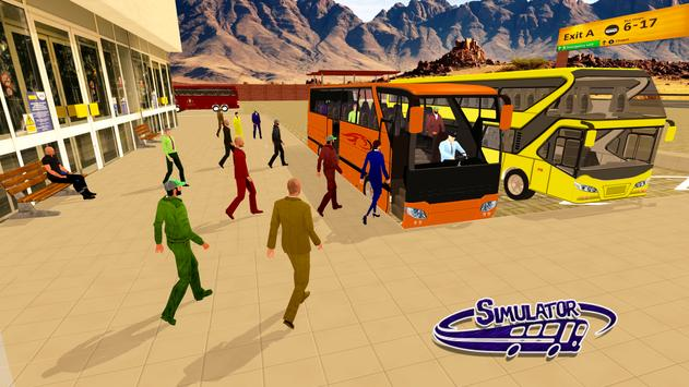 Coach Bus Simulator Driving 3 Affiche