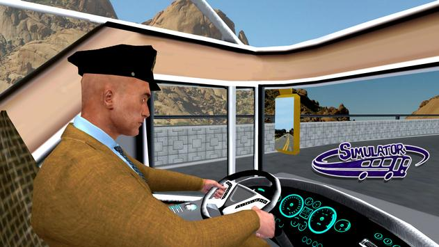 Coach Bus Simulator Driving 3 capture d'écran 5