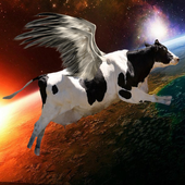Flying Cow Rescue the Galaxy icon