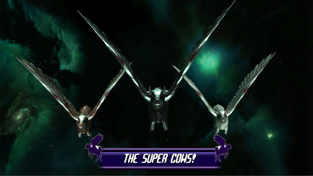 Flying Cow Rescue the Galaxy screenshot 5