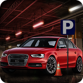 Multi-Level Car Parking Simulator Driving School icon