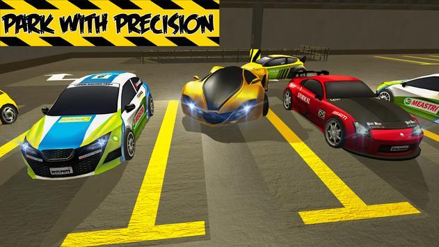 Multi-Level Car Parking Simulator Driving School poster