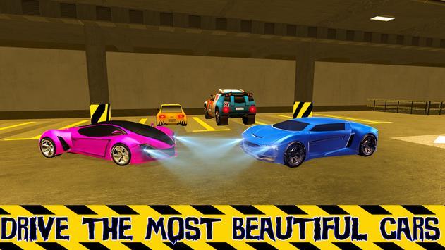 Multi-Level Car Parking Simulator Driving School apk screenshot