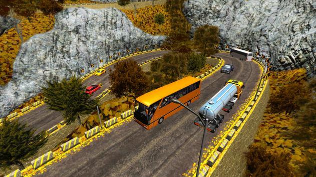 Coach Bus Simulator Off Road Bus Mountain Drive screenshot 1