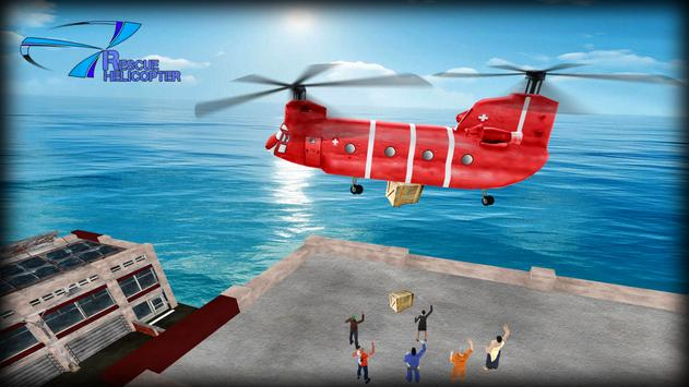 Helicopter Games Rescue Helicopter Simulator Game スクリーンショット 3