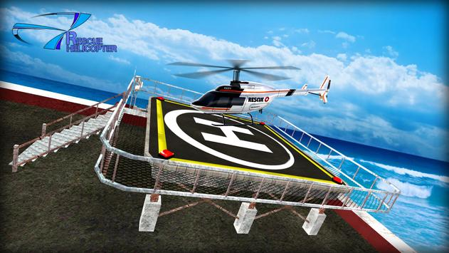 Helicopter Games Rescue Helicopter Simulator Game スクリーンショット 2