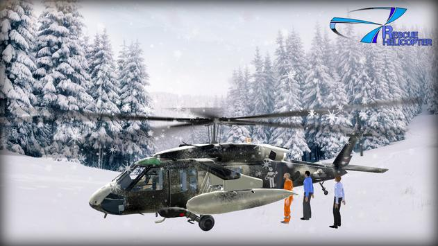 Helicopter Games Rescue Helicopter Simulator Game スクリーンショット 4