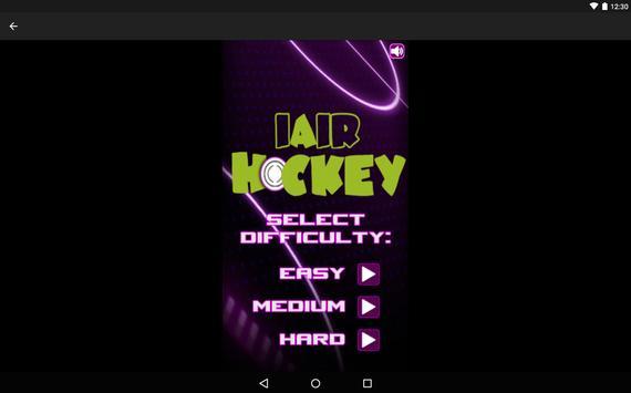 iAirHockey poster
