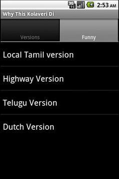 Why This Kolaveri-All Versions screenshot 3