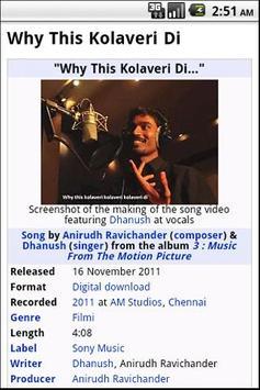 Why This Kolaveri-All Versions screenshot 1