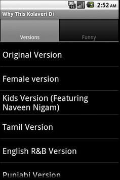 Why This Kolaveri-All Versions screenshot 2