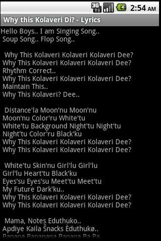 View Why This Kolaveri Di Song Download PNG