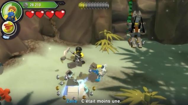 GUIDE LEGO Ninjago poster