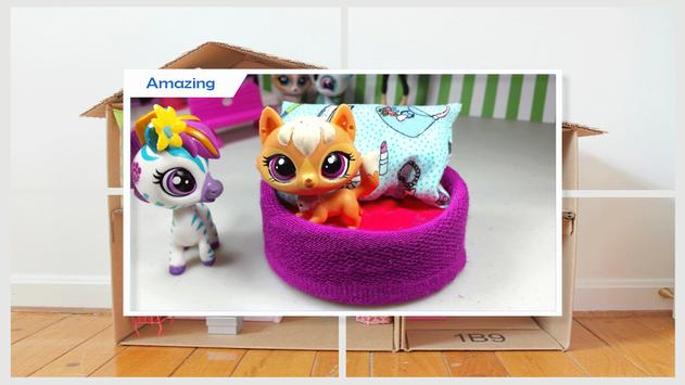 Best DIY Cardboard Box Dolls Bed apk screenshot