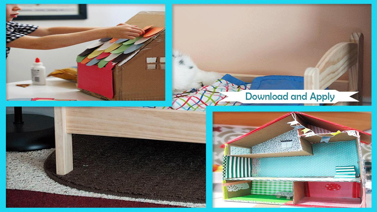 Best Diy Cardboard Box Dolls Bed For Android Apk Download