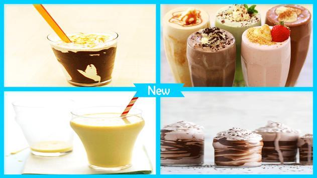 Delectable Milkshake Recipes screenshot 3