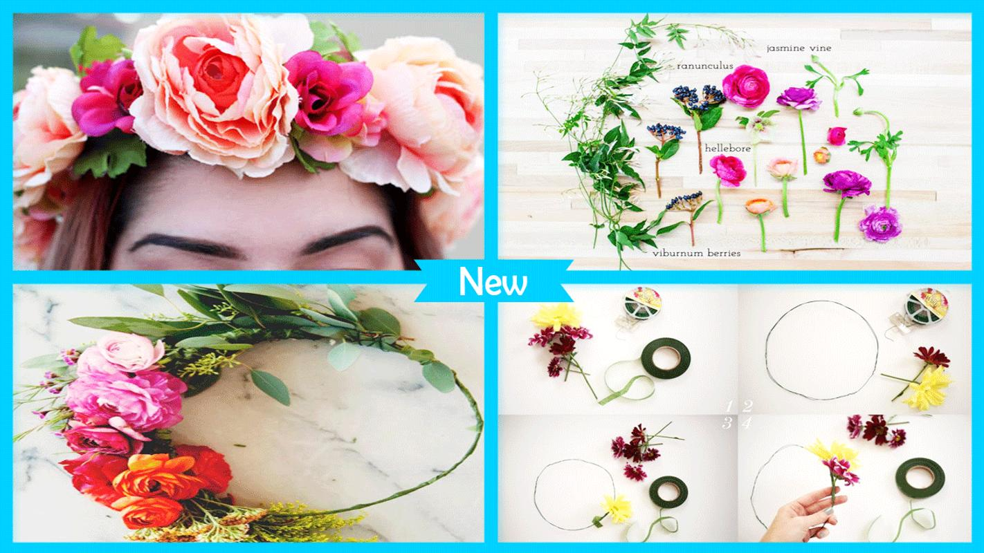 Easy Diy Flower Crown For Android Apk Download