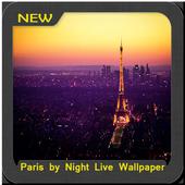 Paris by Night Wallpaper icon
