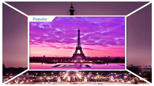 Paris by Night Wallpaper screenshot 1