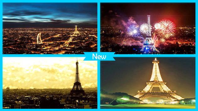Paris by Night Wallpaper screenshot 3