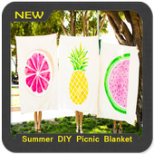 Summer DIY Picnic Blanket icon