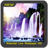 Waterfall Wallpaper HD icon