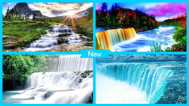Waterfall Wallpaper HD apk screenshot