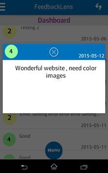 FeedbackLens apk screenshot