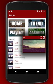 KoLite Tube - Float Player apk screenshot
