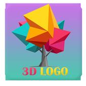 3D Logo Maker Name Art Logo Designer icon