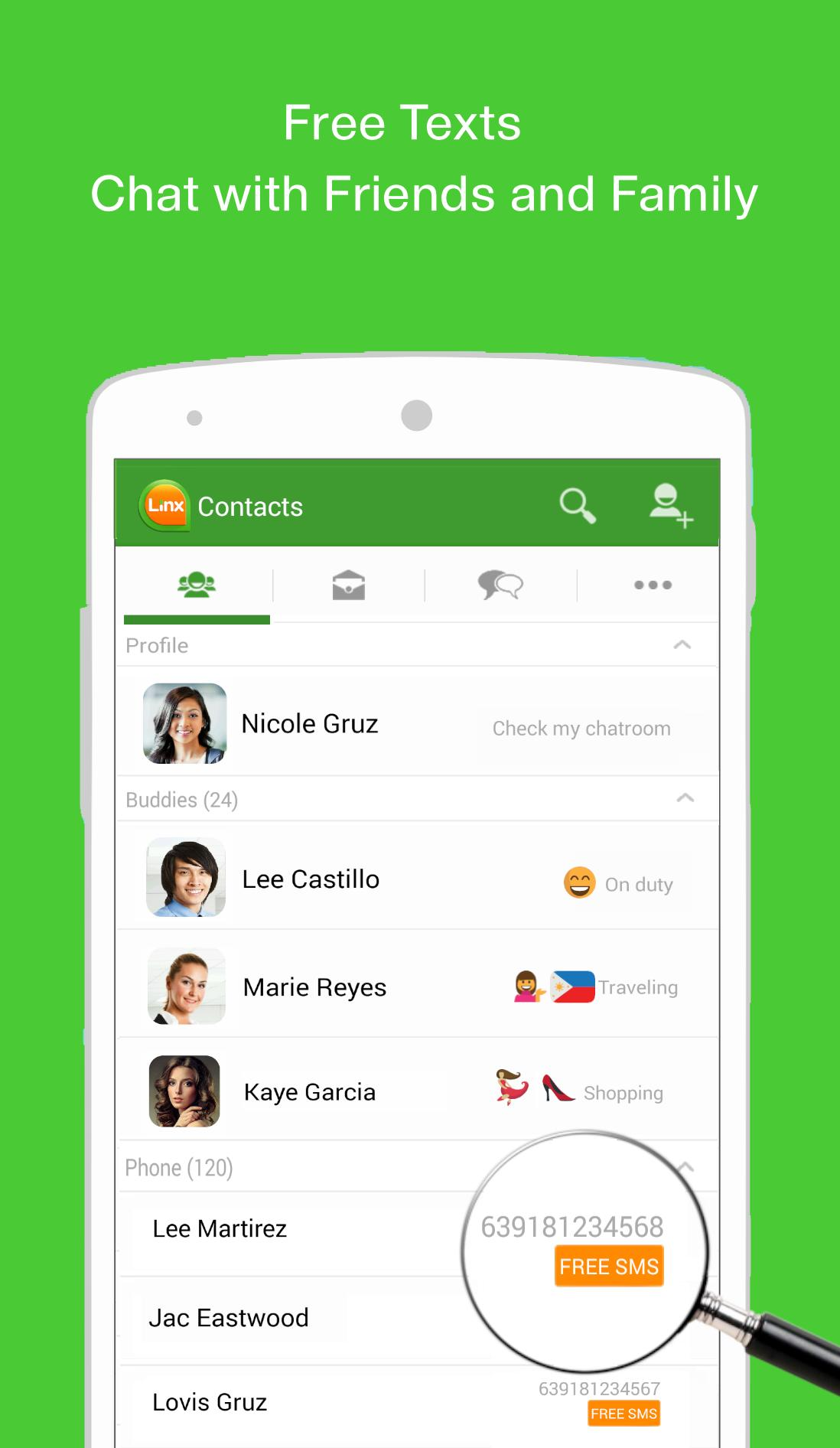 LINX: Free Text, Chats & Games for Android - APK Download
