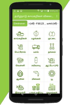 Tamilnadu Daily Market Prices poster