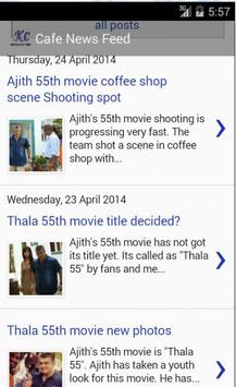 Kollywood Cafe apk screenshot