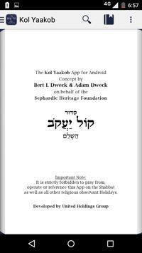 Kol Yaakob Siddur for Android - APK Download