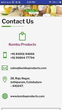 Kombu Foods screenshot 4
