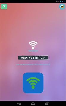 WiFi FTP Android apk screenshot