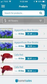 Komet Sales apk screenshot