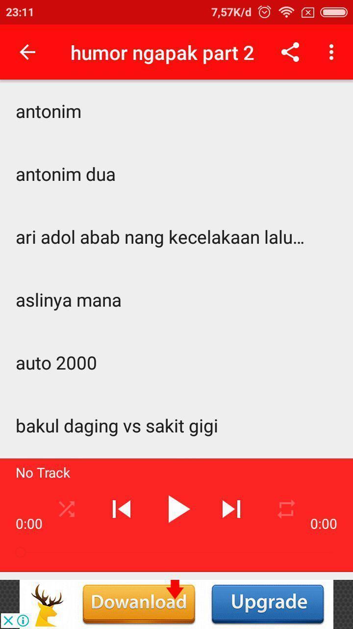 Komedi Ngapak Lucu For Android APK Download