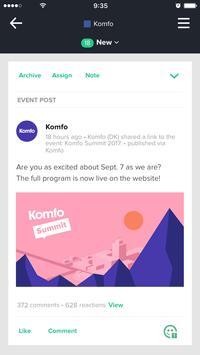 Komfo Monitor screenshot 1