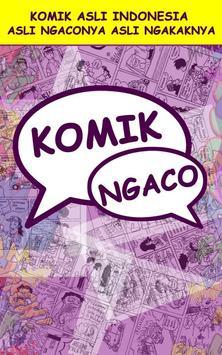 Komik Ngaco poster
