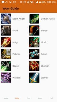 Guide for wow player apk screenshot