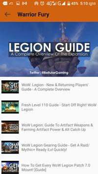 Guide for wow player screenshot 2