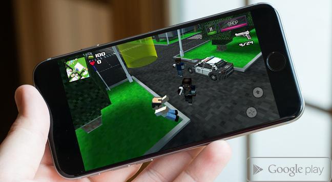 Pixel Combat Survival apk screenshot