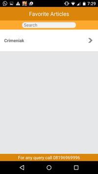 Latest Case Law apk screenshot