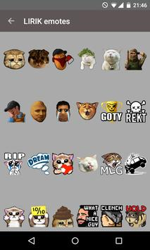 Twitch Emotes (BetterTTV) screenshot 1