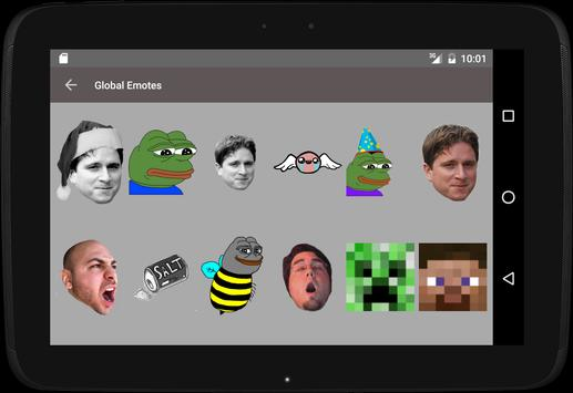 Twitch Emotes (BetterTTV) screenshot 9