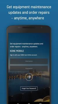 KONE Mobile poster