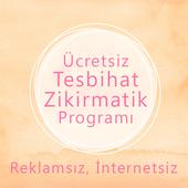 Zikirmatik - Tesbihat Programı Ücretsiz icon