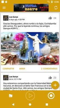 Siempre Korys Radio Bolivia screenshot 2