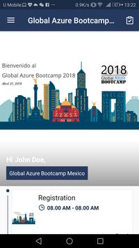 Global Azure Bootcamp Mexico poster